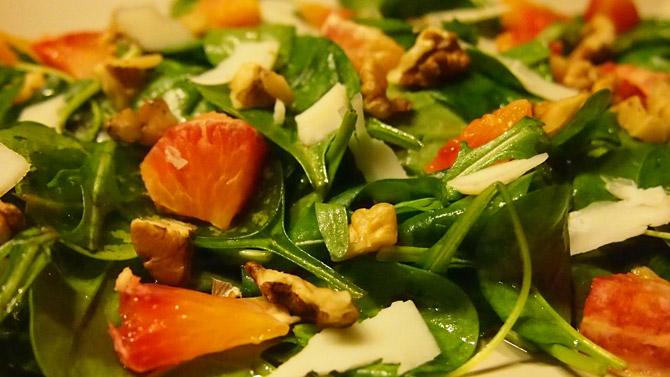 Спаначена италианска салата