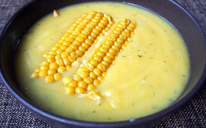 Картофена крем супа с царевица