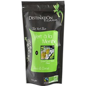 Био китайски зелен чай с мента 100 гр., Destination