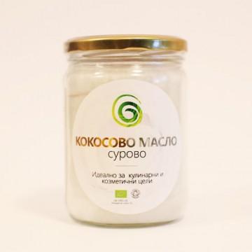 Био кокосово масло, сурово 500 гр., Spirala