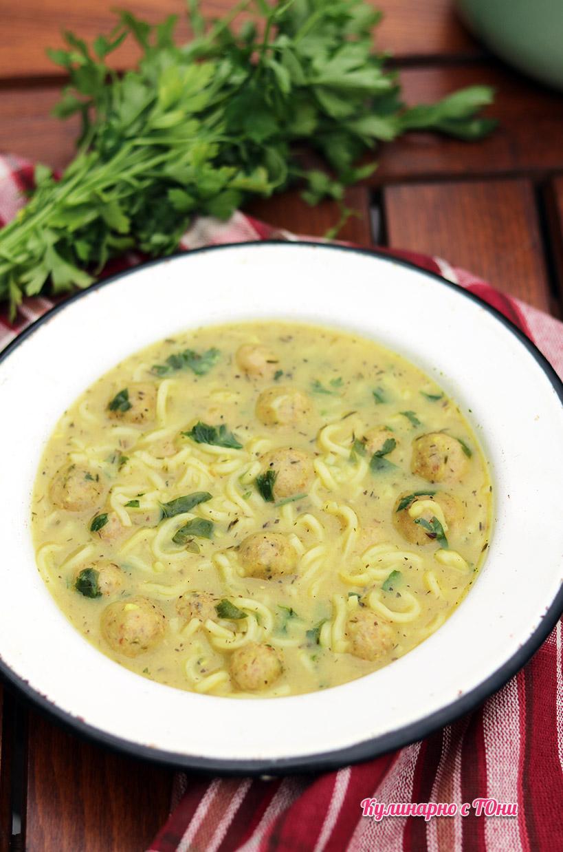 Супа топчета - класическа рецепта във веган вариант