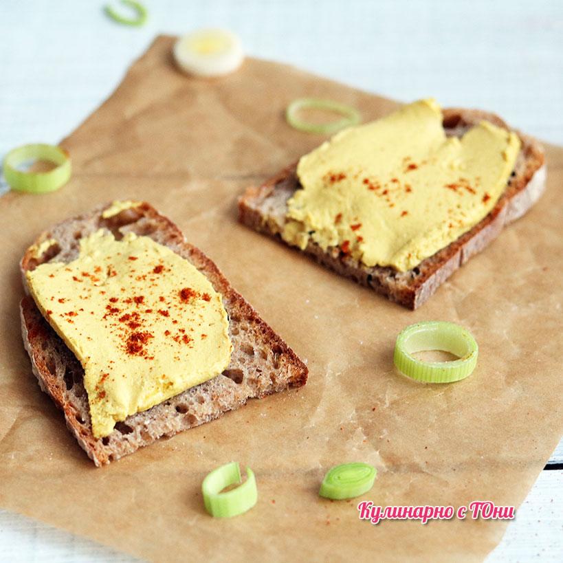 Шопско сирене за мазане от едно време във веган вариант