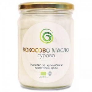 Био кокосово масло, сурово, 500 гр., Spirala