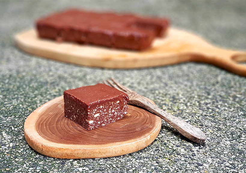 Лесна рецепта за шоколадово брауни - сурово, веган и без глутен